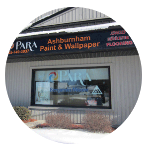 Ashburnham Paint & Wallpaper Store in Peterborough