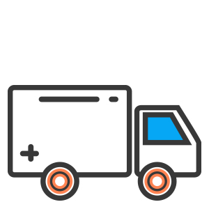 Free Paint Delivery, Free Delivery Icon, Truck Icon