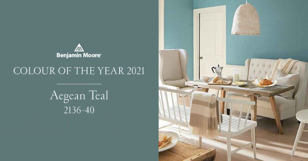 Agean Teal 2021 Colour of the Year